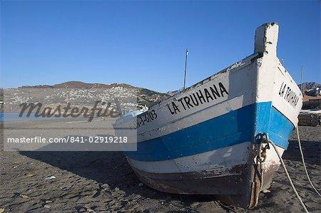 Plage près de Salobrena, Costa del Sol, Granada province, Andalousie, Espagne, Europe