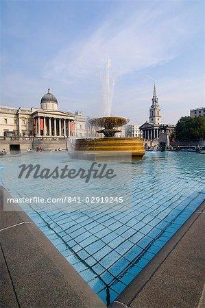 Trafalgar Square, London, England, Vereinigtes Königreich, Europa