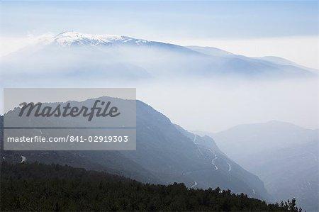 Alpujarras, Sierra Nevada, Andalousie, Espagne, Europe