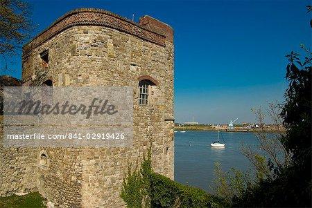 Upnor castle, Kent, Angleterre, Royaume-Uni, Europe