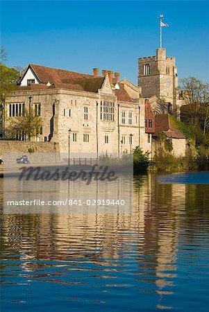 Palast der Bischöfe, Maidstone, Kent, England, Vereinigtes Königreich, Europa