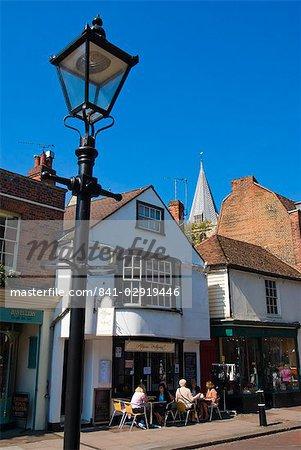 High Street, Rochester, Kent, Angleterre, Royaume-Uni, Europe