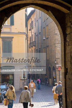 Bergame, Lombardie, Italie, Europe