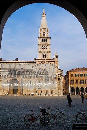 Cathédrale, Modène, l'UNESCO, Site du patrimoine mondial, Emilia Romagna, Italie, Europe