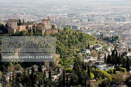 Albaicin, Granada, Andalucia, Spain, Europe