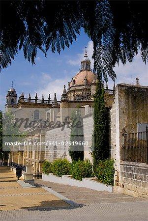 Cathédrale, Jerez de la Frontera, Andalousie, Espagne, Europe