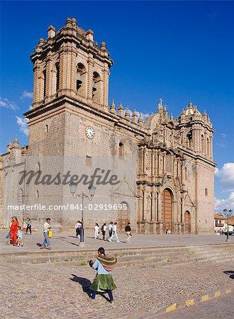 Die Kathedrale in Cuzco, Peru, Südamerika