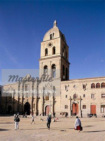 San Francisco church, La Paz, Bolivia, South America