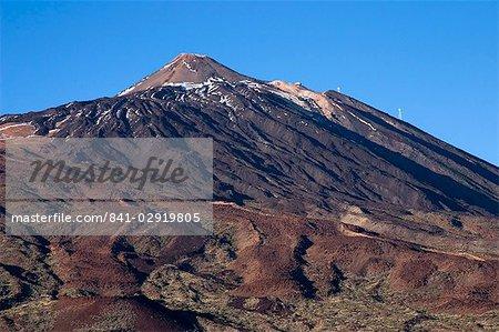 Le Teide (Pico del Teide), Parque Nacional de Las Canadas del Teide (Parc National de Teide), Tenerife, îles Canaries, Espagne, Europe