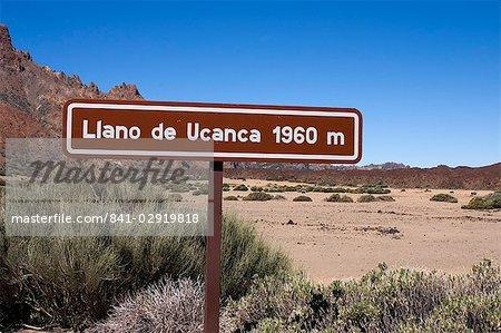 Llano de Ucanca, Parque Nacional de Las Canadas del Teide (Teide-Nationalpark), Teneriffa, Kanarische Inseln, Spanien, Europa