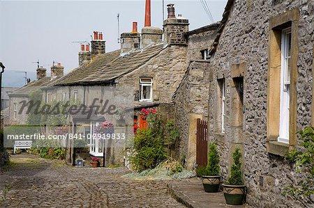 Grassington village, Parc National de Yorkshire Dales, North Yorkshire, Angleterre, Royaume-Uni, Europe