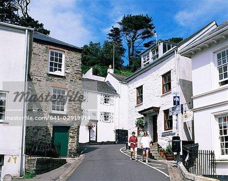 Polperro, Cornwall, Angleterre, Royaume-Uni, Europe
