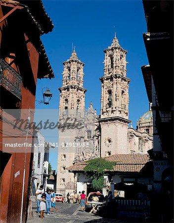 St. Prisca church, Taxco, Mexico, North America