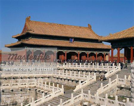 Le Palais impérial, cité interdite, Beijing, Chine, Asie