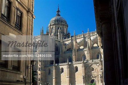 The cathedral, Salamanca, Castilla y Leon, Spain, Europe