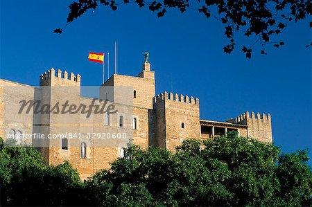 The Almudaina Palace, Palma, Mallorca (Majorca), Balearic Islands, Spain, Mediterranean, Europe