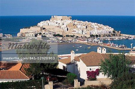 Découvre à la Citadelle de Peniscola, Costa del Azahar (Costa del Alzahar), communauté valencienne, Espagne, Méditerranée, Europe
