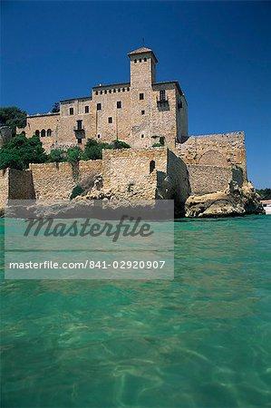 Tamarit château, Tarragona, Costa Dorada, Catalogne, Espagne, Europe