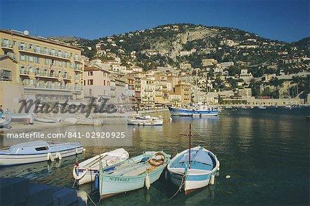Le port, Villefranche, Provence, France, Europe