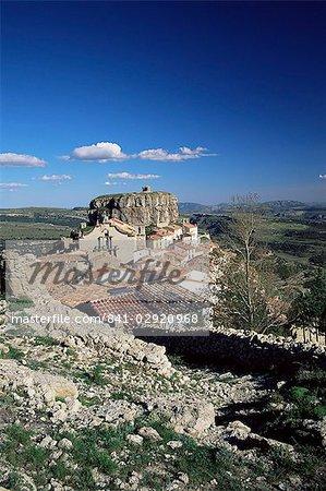 Village de Ares del Maestre, Castellon, Valencia région, Espagne, Europe