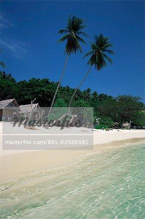L'île de Phi Phi Don, au large de Phuket, Thaïlande, Asie du sud-est, Asie