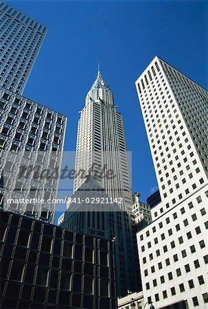 Le Chrysler Building, Manhattan, New York City, États-Unis d'Amérique, North America