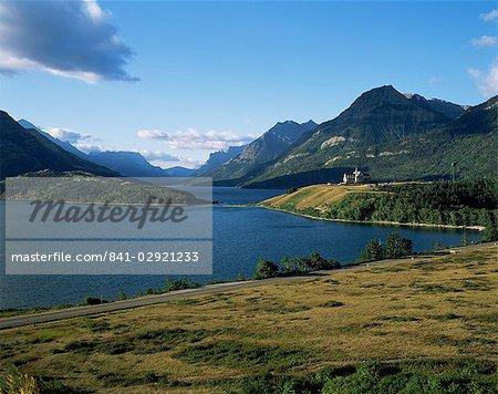 Des lacs-Waterton et hôtel Prince de Galles, montagnes Rocheuses, Alberta, Canada, Amérique du Nord