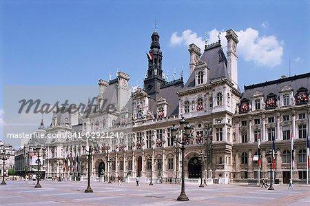 Hotel de Ville, Paris, France, Europe