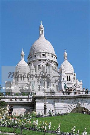 Basilique du Sacre Coeur, Montmartre, Paris, France, Europe