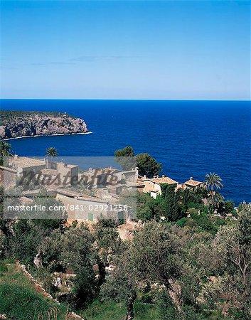 Deia, Majorca, Balearic Islands, Spain, Mediterranean, Europe