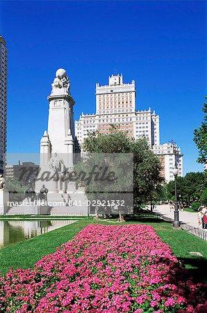 Plaza de Espana, Madrid, Spain, Europe