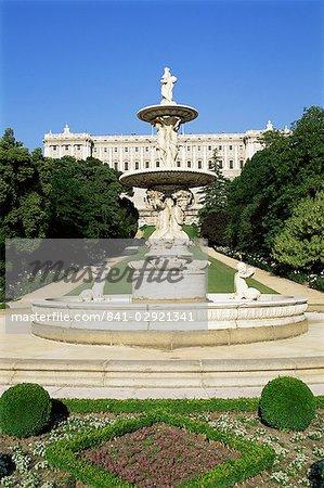 Palacio Real, Madrid, Spain, Europe