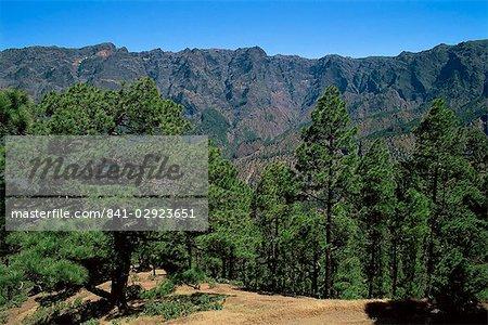 Caldera de Taburiente, La Palma, Canary Islands, Spain, Europe