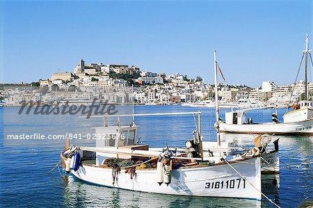 Ibiza Town, Ibiza, Balearic Islands, Spain, Mediterranean, Europe