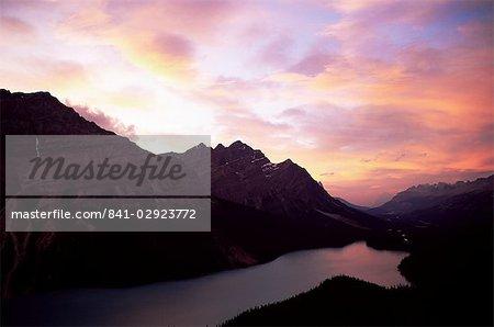 Peyto Lake, Parc National Banff, UNESCO World Heritage Site, Alberta, Rocheuses, Canada, Amérique du Nord