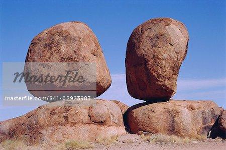 Marbles de Devil's, territoire du Nord, Australie