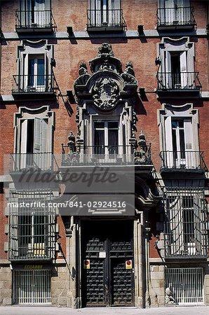 De Ribera portal, c. de S. Jer. Madrid, Spain, Europe
