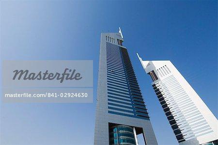Emirates Towers, Sheikh Zayed Road, Dubai, United Arab Emirates, Middle East
