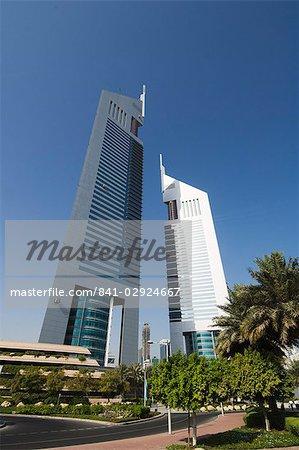 Emirates Towers, Sheikh Zayed Road, Dubai, Émirats arabes, Moyen Orient