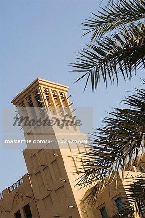 Wind towers, Dubai, United Arab Emirates, Middle East
