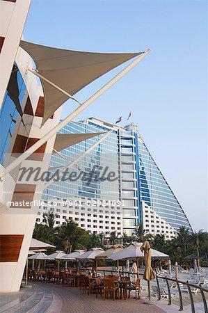 Jumeirah Beach Hotel, Dubaï, Émirats arabes Unis, Moyen Orient