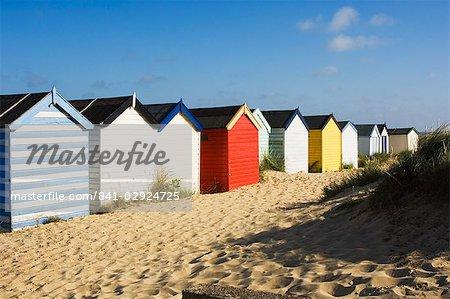 Cabanes de plage, Southwold, Suffolk, Angleterre, Royaume-Uni, Europe