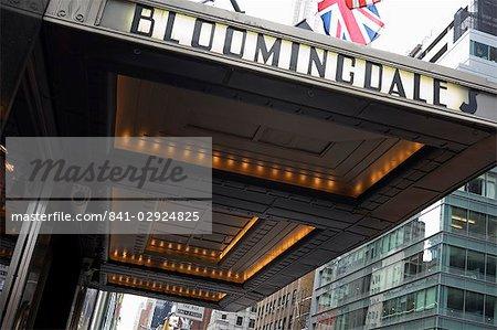 Bloomingdale magasins, 5th Avenue, Upper East Side, Manhattan, New York City, New York, États-Unis d'Amérique, Amérique du Nord