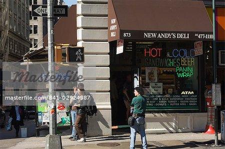 Deli, Broadway, Manhattan, New York City, New York, United States of America, North America