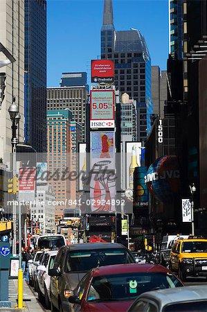 Times Square, Manhattan, New York City, New York, États-Unis d'Amérique, l'Amérique du Nord