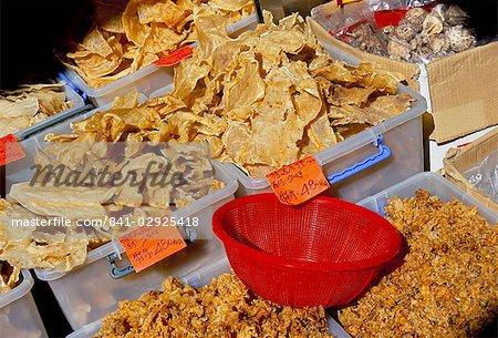 Séché boutique de fruits de mer, Des Voeux Road West, Sheung Wan, Hong Kong Island, Hong Kong, Chine, Asie