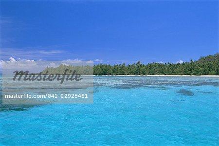 Abri des lagunes, des îlots de calcaire et des plages désertes, Lau groupe, îles à explorer, Nord Lau group, Fidji, îles du Pacifique Sud, Pacifique
