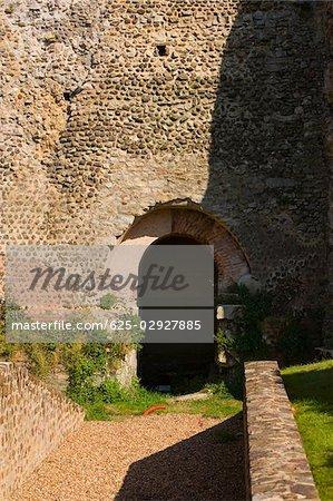 Entrance of a tunnel, Le Mans, Sarthe, Pays-de-la-Loire, France