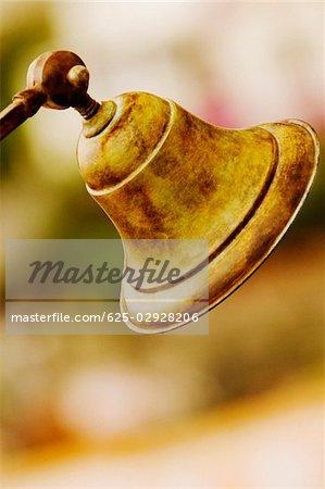 Close-up of a bell, Positano, Amalfi Coast, Salerno, Campania, Italy