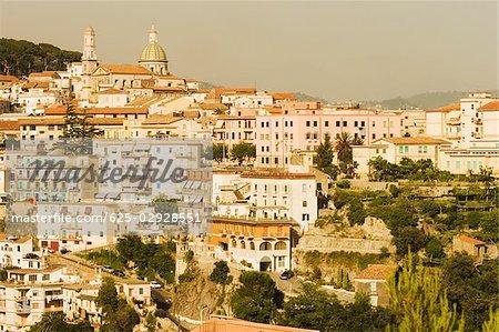 Buildings in a town, Vietri sul Mare, Costiera Amalfitana, Salerno, Campania, Italy